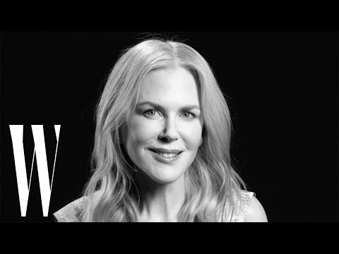 Nicole Kidman on Big Little Lies, Moulin Rouge, and Oscars Mini-Dress | Screen Tests | W Magazine