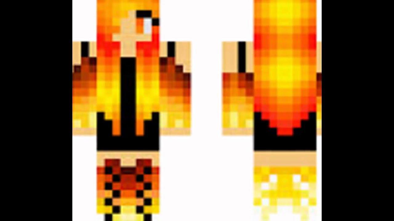 скины для девочек в майнкрафт с ушками и огнеными руками #4