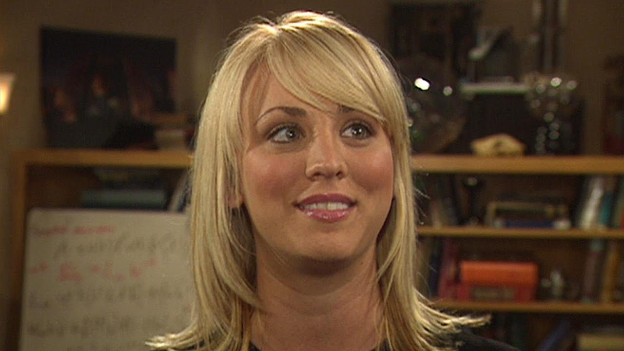 Watch Kaley Cuoco Tour The Big Bang Theory Set In 2007 Flashback Youtube