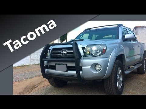 ef6400ae31 Toyota Tacoma TRD (2010) a Prueba - Trabajo al estilo Toyota - YouTube