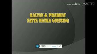 PRABHAT SATTA MATKA  23/08/19 free game
