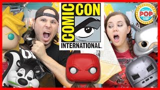 SDCC 2018 Funko POP! EXCLUSIVES | HUGE HAUL @ Hot Topic, B&N, & MORE! | Sold OUT & Limited POP!s