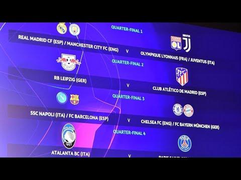 دوري أبطال أوروبا: باريس سان جرمان-أتلانتا في ربع النهائي وموقعة محتملة بين ريال مدريد ويوفنتوس  - 13:58-2020 / 7 / 10