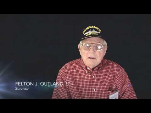 USS Indianapolis Survivor, Felton J. Outland
