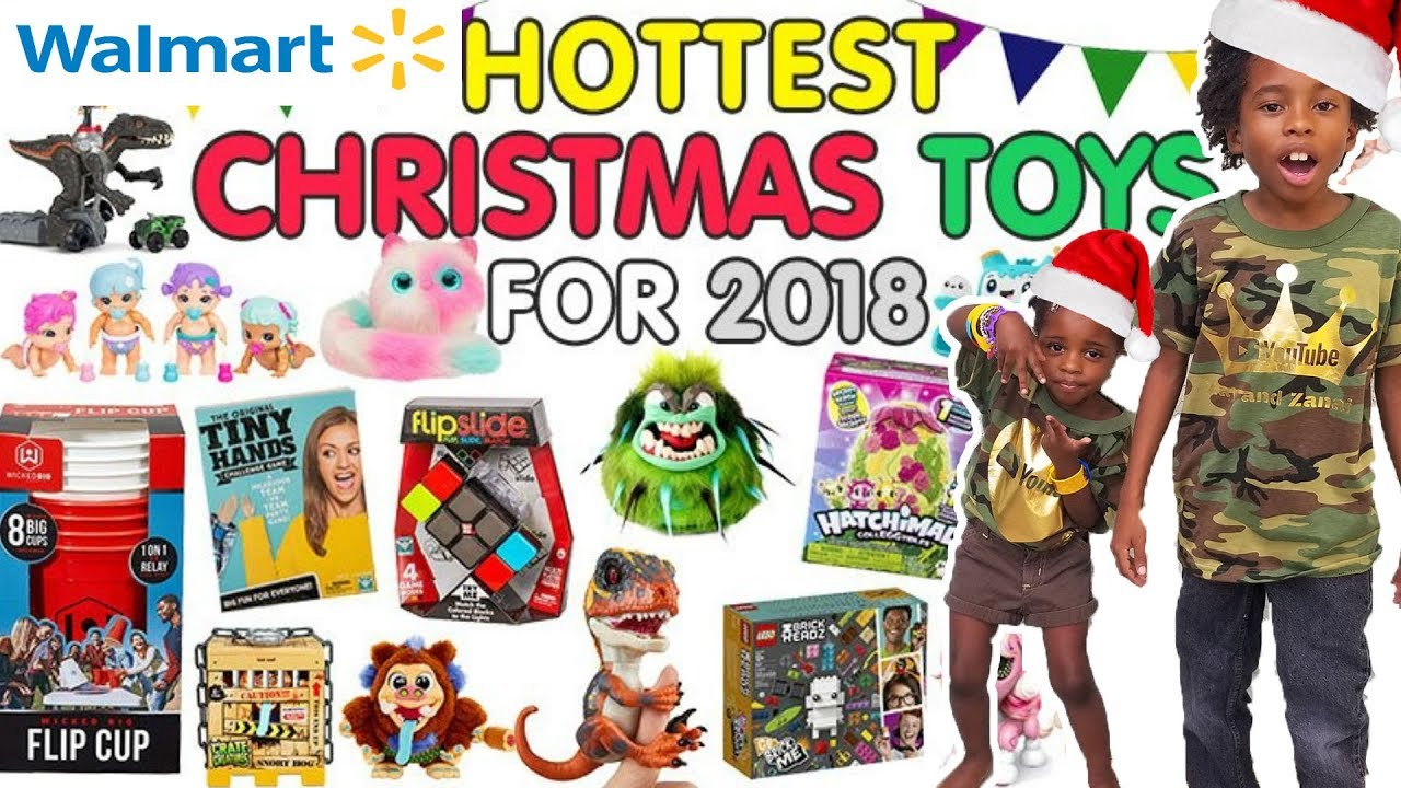 Top Toys For Christmas 2018 Walmart Toy Shop Youtube