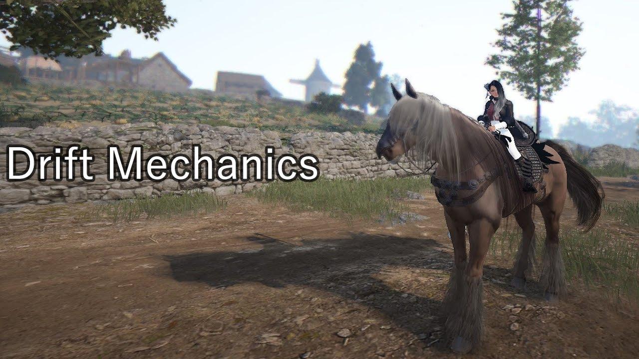 BDO - Horse Training: Drift Mechanic