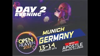 Open Heaven - Munich Germany,  Day 2 Evening with Apostle Johnson Suleman