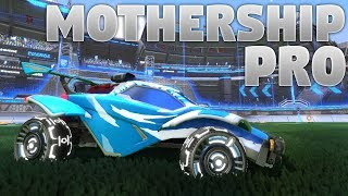New Titanium White Mothership Pro Wheels Showcase (Rocket League)
