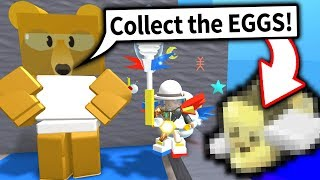 I COMPLETED EGG HUNT missions to unlock RARE ITEMS in Bee Swarm Simulator!! (Roblox)