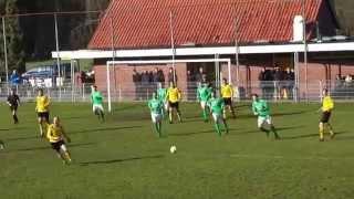 Voetbalwedstrijd MEC - Rekken