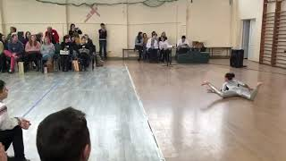 Dance and movement. Contorsionist dance by student Andreea Tucaliuc, 8B, Botosani 13