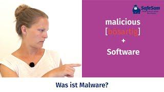 Was ist Malware? - Kurz und einfach erklärt