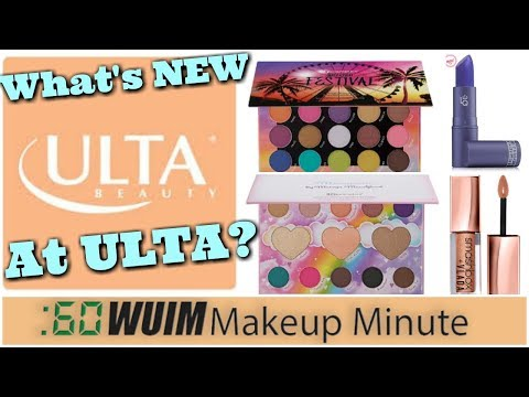 What's New at Ulta Roundup! BH Cosmetics, Smashbox, and MORE! | Makeup Minute