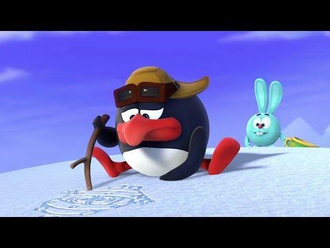 Пин-код : Силуэт на снегу. Познавательные мультфильмы