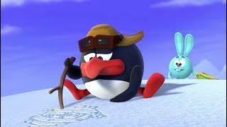 Силуэт на снегу - Смешарики. ПИН - код | Познавательные мультфильмы