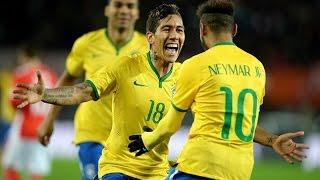 Austria Vs Brazil (1-2) All Goals  HD  - Friendly Match 18/11/2014