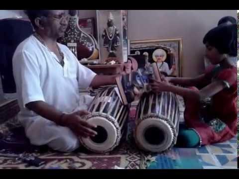 Pt. Ashokji M. Panchal (Guruji ) & His Sweet Daughter Mukta Panchal