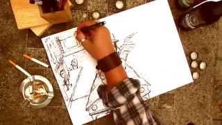 Ollie - Castelo part. Melodi. (Official Video - Draw My Story)(Em nosso primeiro CLIPE OFICIAL viemos mostrar um pouco da ideia da
