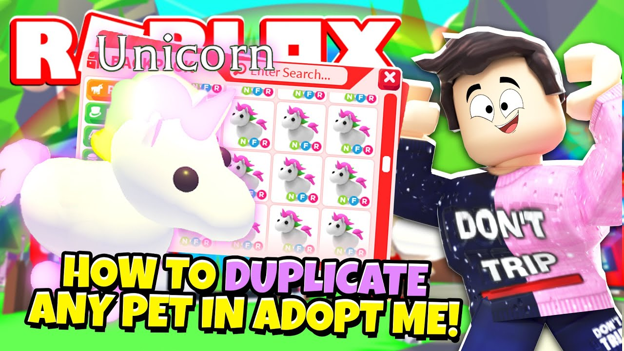 How To Duplicate Any Pet In Adopt Me New Adopt Me Working Pet Hack Update Roblox Youtube