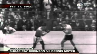 Ray Robinson vs  Denny Moyer II