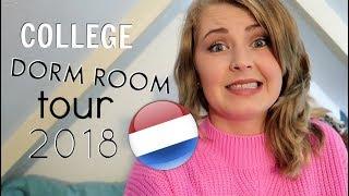 College DORMROOM tour   2018!