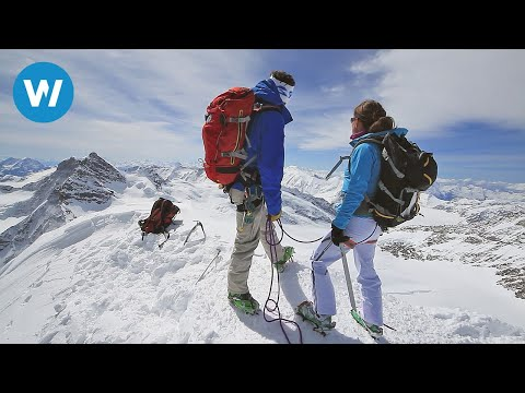 Climbing in the Swiss Alps | Mönch and Jungfrau (French with
