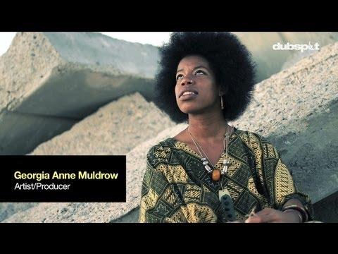 Georgia Anne Muldrow @ Dubspot - Interview (Stones Throw / SomeOthaShip) mp3