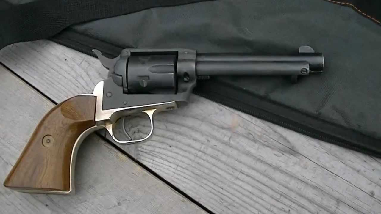 Busted Single-Action  22 Revolver