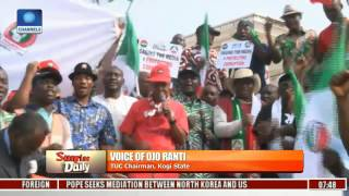 Kogi Workers Not Paid For 15 Months, Nothing To Celebrate-- TUC Chairman Pt 2