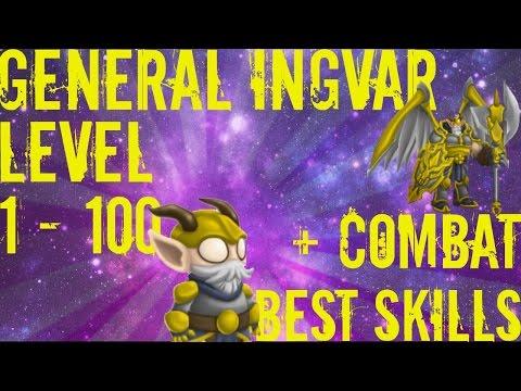 Monster Legends - General Ingvar Level 1 to 100