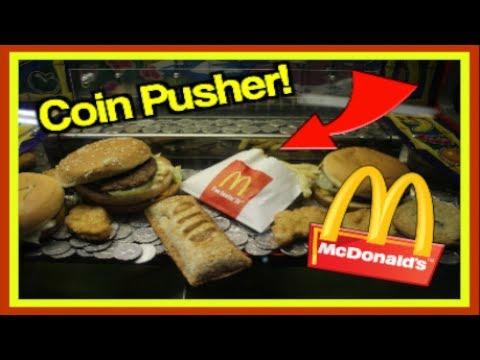 Winning Mcdonalds In Coin Pusher
