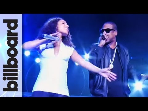 Alicia Keys & Jay Z Perform Empire State of Mind  at Madison Square Garden  Billboard