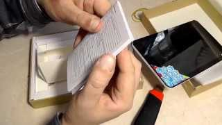 Cube Talk 8x (U27GT-C8) розпакування 8-ядерного планшета MT8392 8' IPS HD