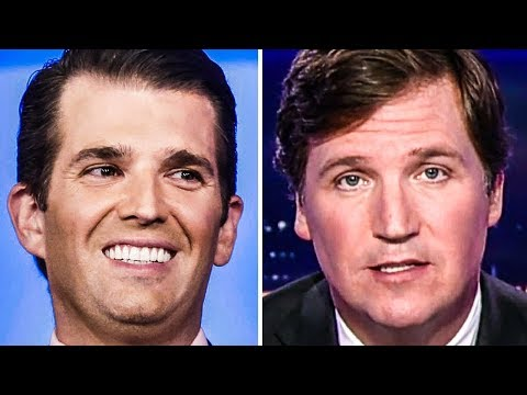 Donald Trump, Jr. Defends Tucker Carlson As More Recordings Surface