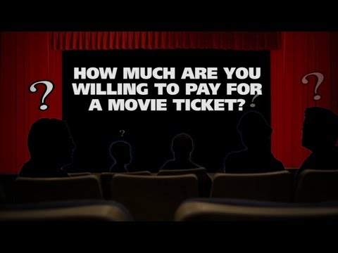 How much are you willing to pay for a movie ticket? - The (Movie) Question