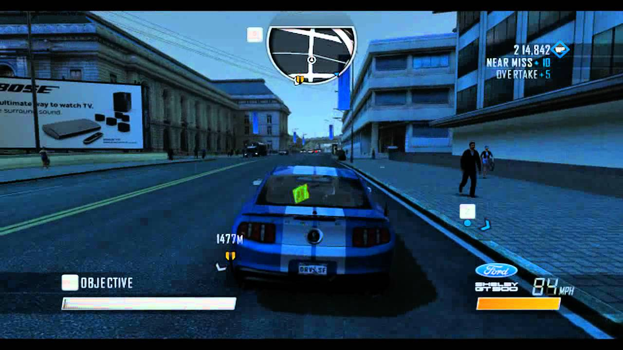 driver san francisco pc gameplay night driving rus. Black Bedroom Furniture Sets. Home Design Ideas
