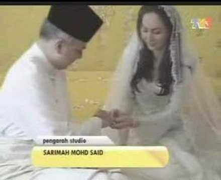 Akad Nikah Raja Nazrin & Zara Salim Davidson