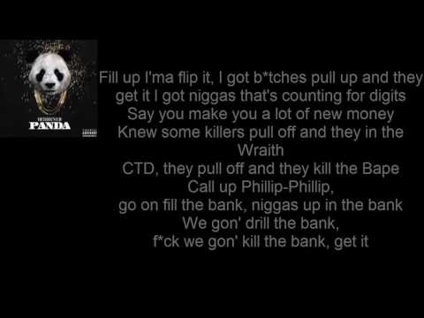 Desiigner- Panda (Lyrics)