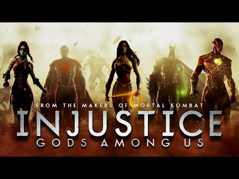 Injustice: Gods Among Us - Game Movie
