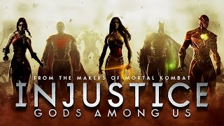 Injustice: Gods Among Us - Game Movie