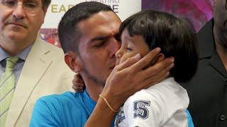 2 Immigrant Dads Reunited with Young Sons in NYC