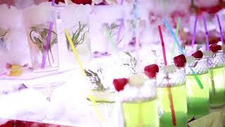 Коктейль - Фуршет на свадьбе от шоу-бара #DrinkEmotion
