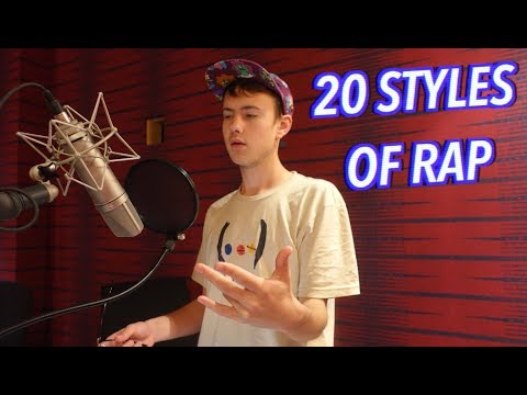 20 Styles of Rapping! LOGIC, XXXTENTACION, 6IX9INE & MORE