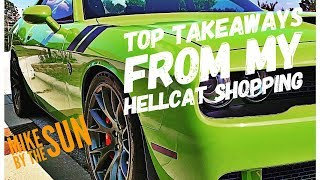So You want to Buy a Used Hellcat