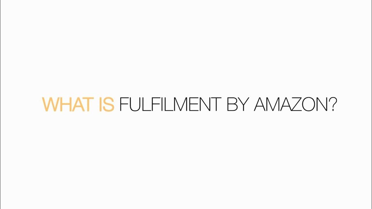 Amazon Fba Fulfilment By Amazon Amazon Co Uk