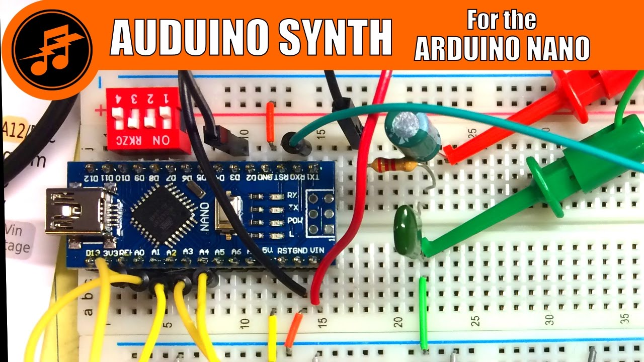 LIVE from the Lab: AUDUINO Synth build for the Arduino NANO
