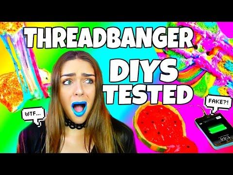 Threadbanger DIYS & Life Hacks Tested!