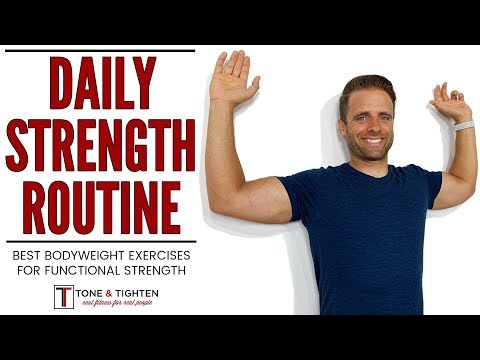 Daily Strength Training Workout Routine | Improve Functional Strength