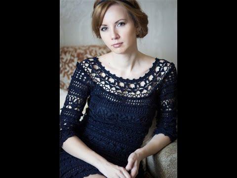 8afa26c4258d4 فساتين كروشيه للكبار - Crochet Summer Dress - - YouTube