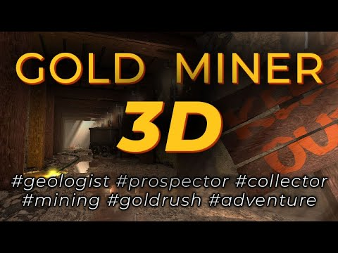 3D Geologist - A Gold Rush Miner Game (FREE Android Game)